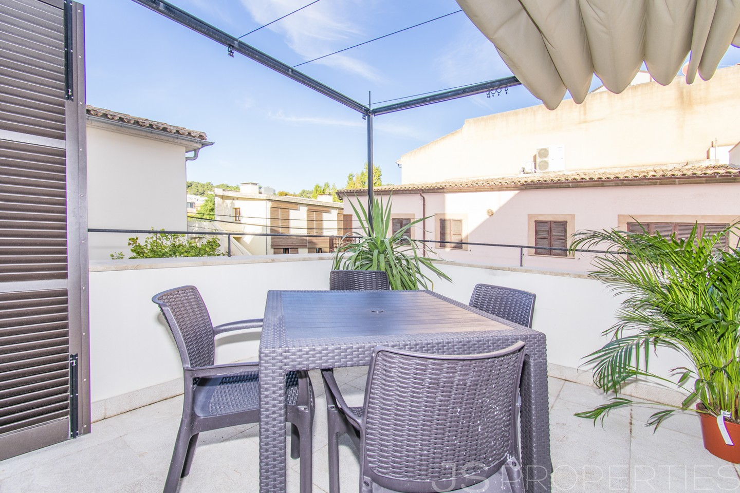 MODERN AND SPACIOUS DUPLEX IN THE HEART OF POLLENSA OLD TOWN